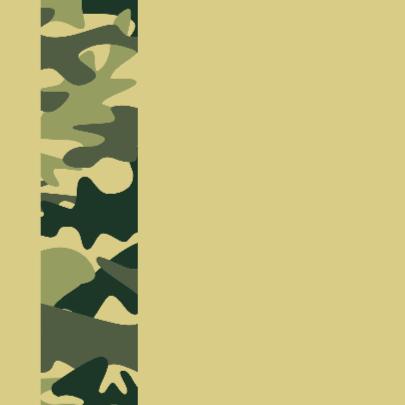 Geboortekaart leger groen 2