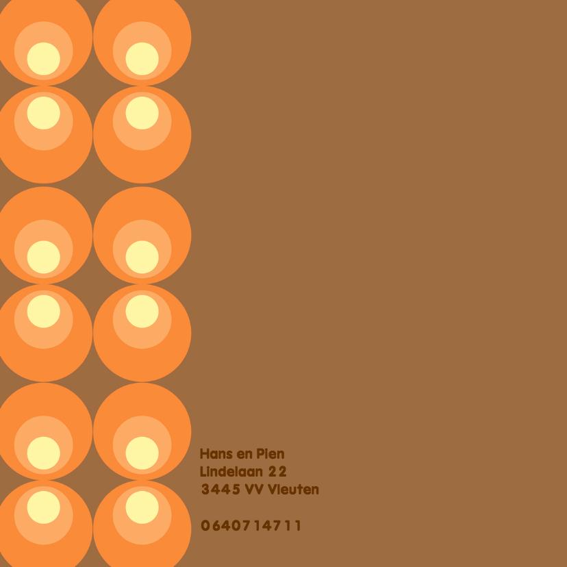 Geboortekaart Retro Design Hugo 2