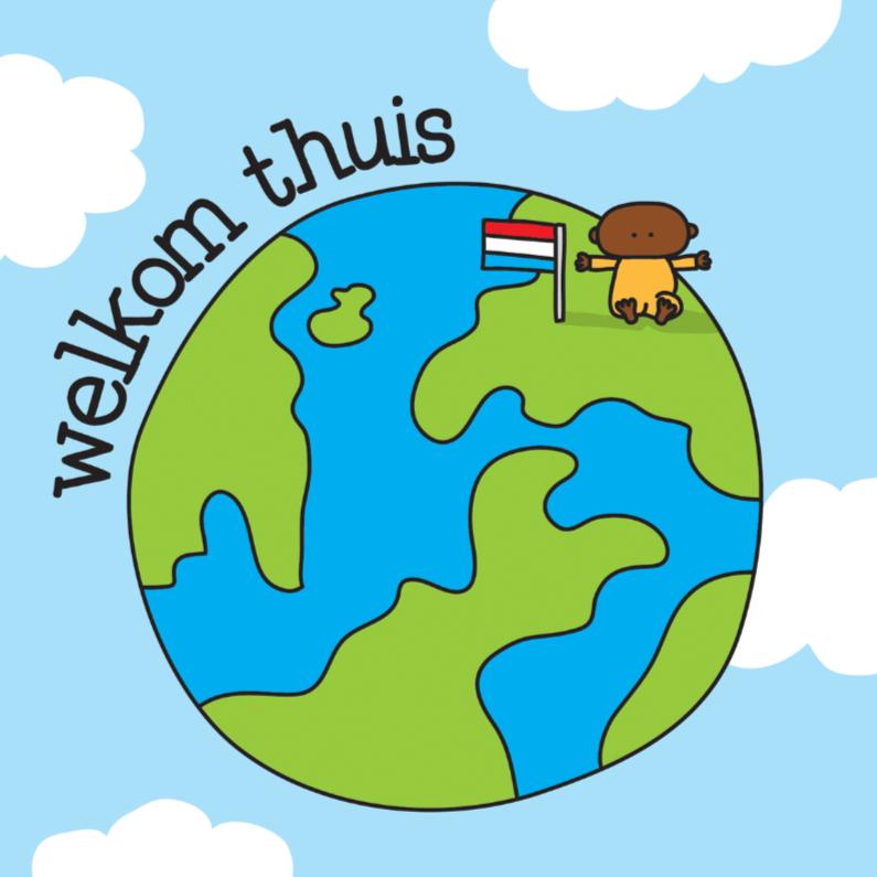 Geboortekaartje Adoptie Wereld 1