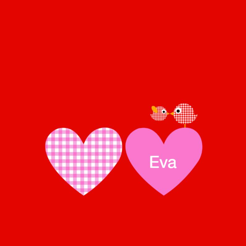 Geboortekaartje Eva 1