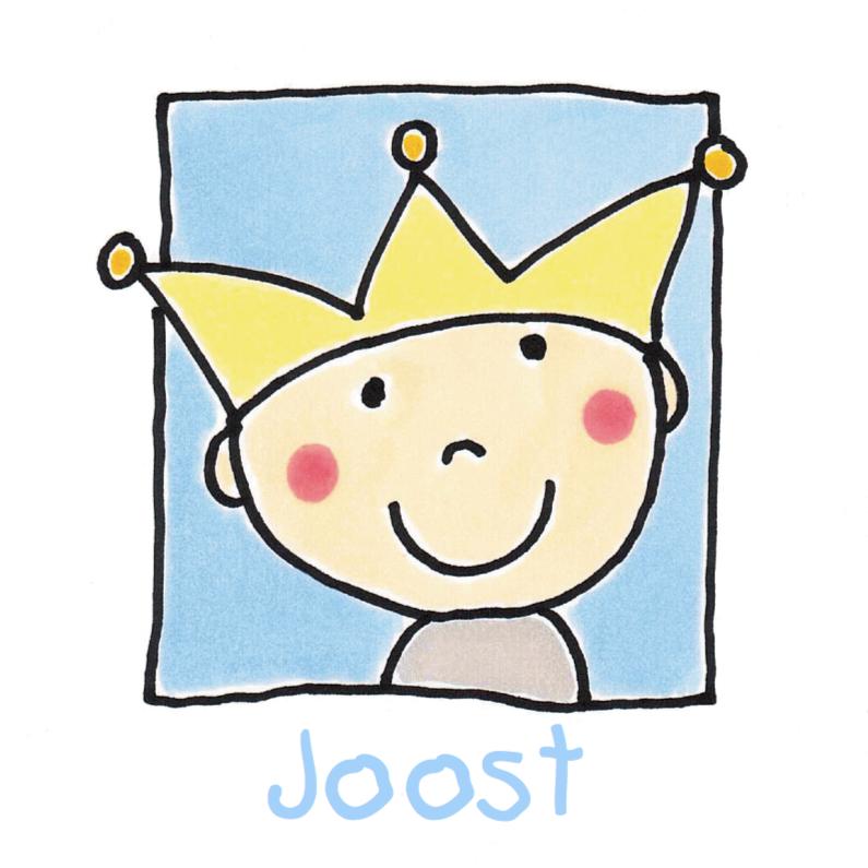Geboortekaartje jongen kroon 1