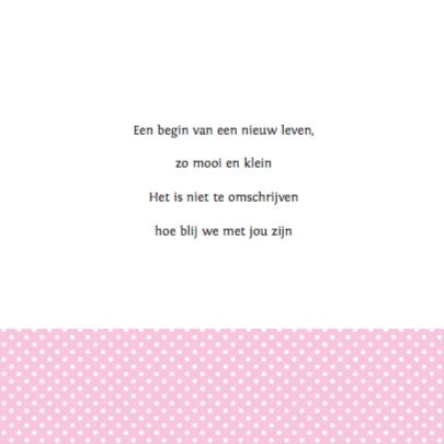 Geboortekaartje Kapstok Meisje 2