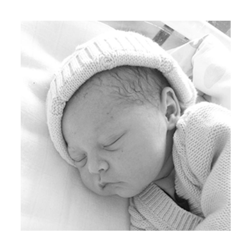 Geboortekaartje karton foto's 2