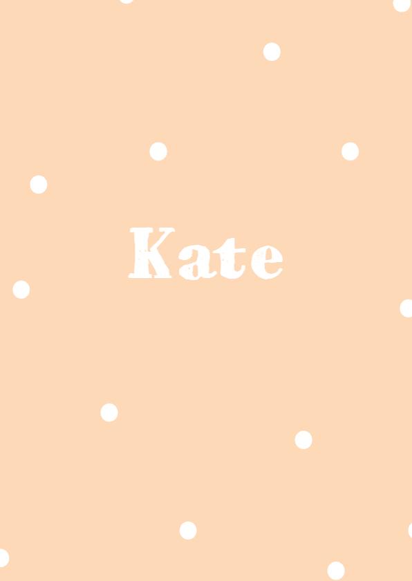 Geboortekaartje Kate - HM 1
