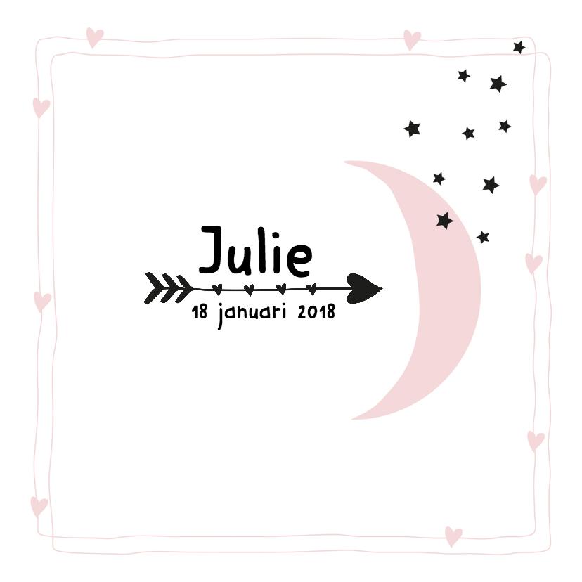 Geboortekaartje Maan Julie 1