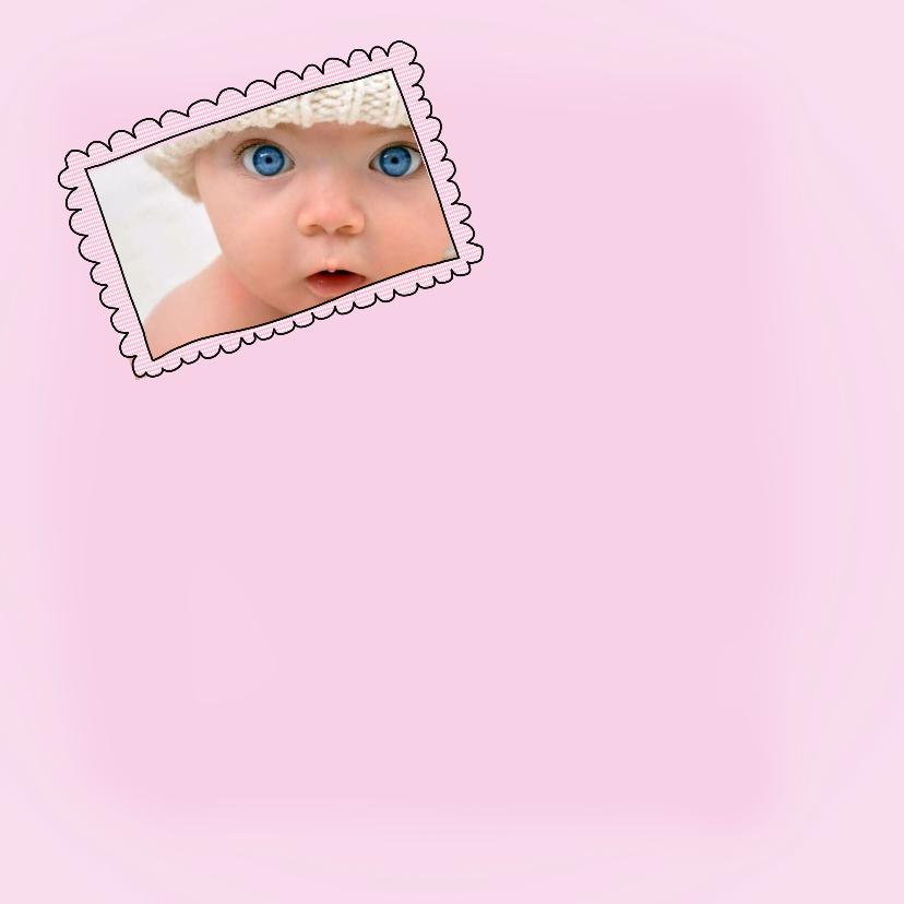 Geboortekaartje meisjelijst 2