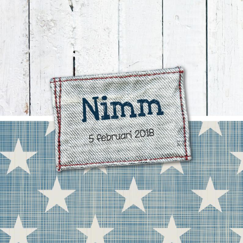 Geboortekaartje Nimm 1