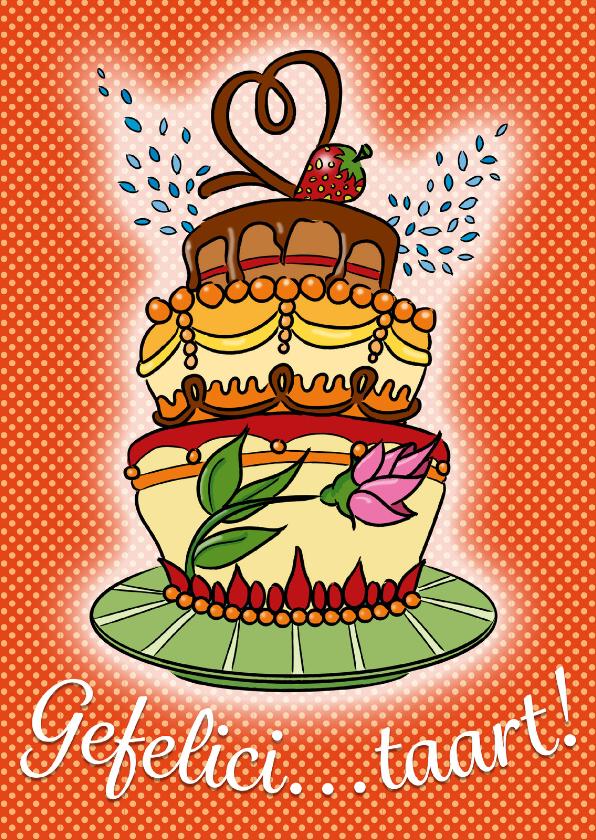 Gefelici...taart! 1