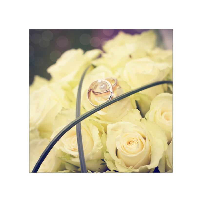 gefeliciteerd huwelijk bloemen 1