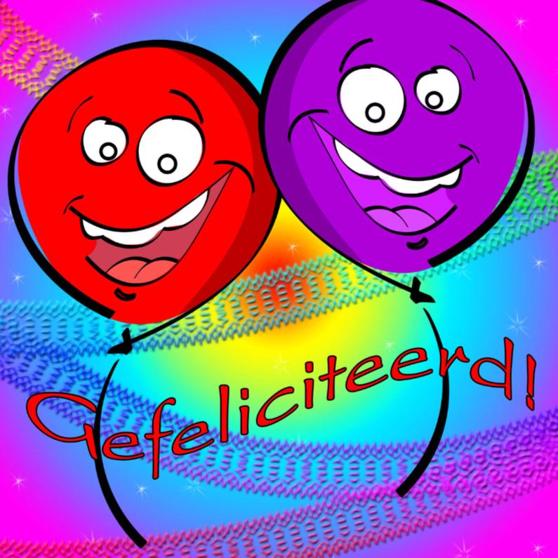 Gefeliciteerd i ballonnen 1