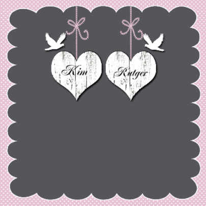 Gefeliciteerd met jullie huwelijk harten 2