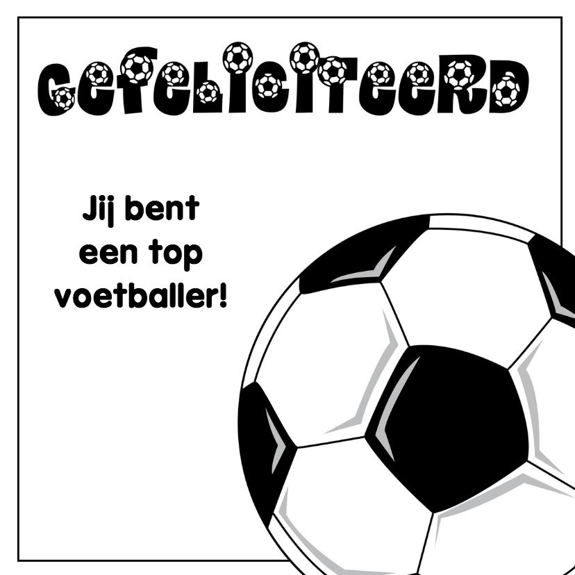 gefeliciteerd voetbal JVT 1