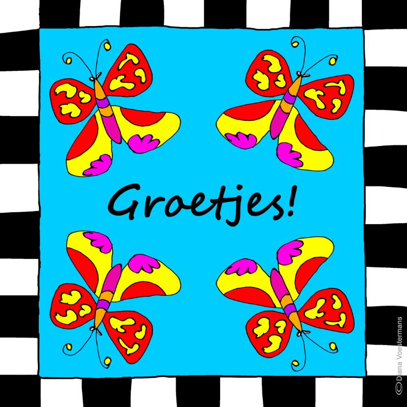 Groetjes vlinders 1