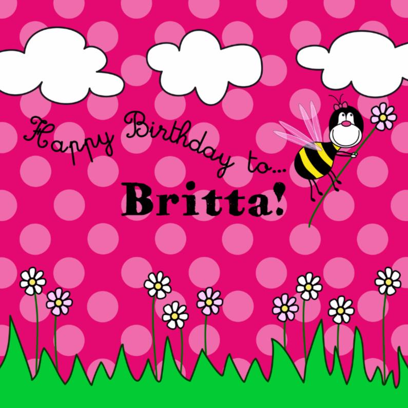 Happy BEE Birthday to  NAAMkaart 1