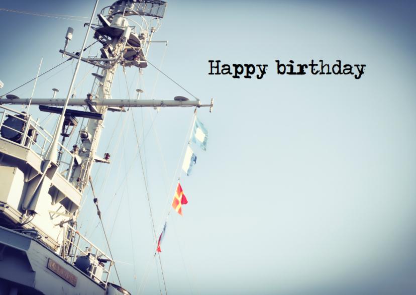 Happy birthday boot 1