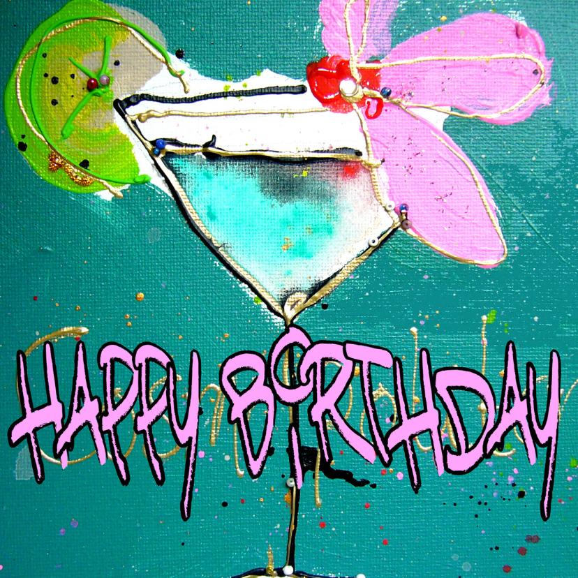 Happy Birthday cocktail 2