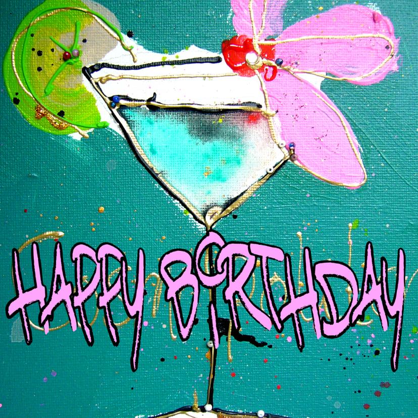 Happy Birthday cocktail 1