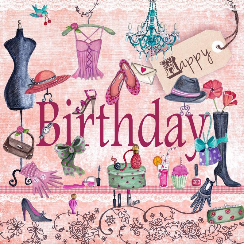 Happy Birthday Girls Meisje 1