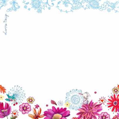 Happy Birthday Letters Bloemen 2