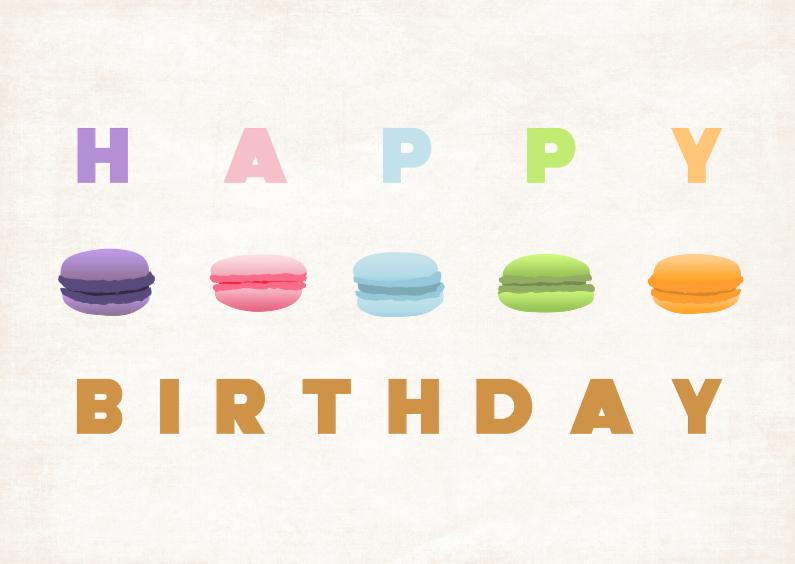 Happy birthday Macarons2 1