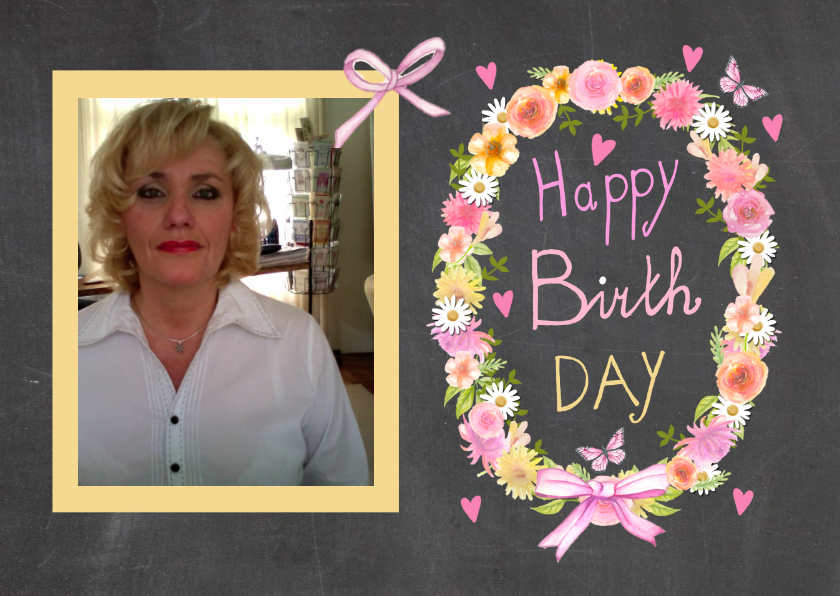 Happy birthday schoolbord 1