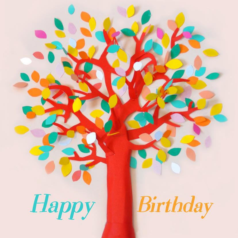 Happy Birthday tree 1
