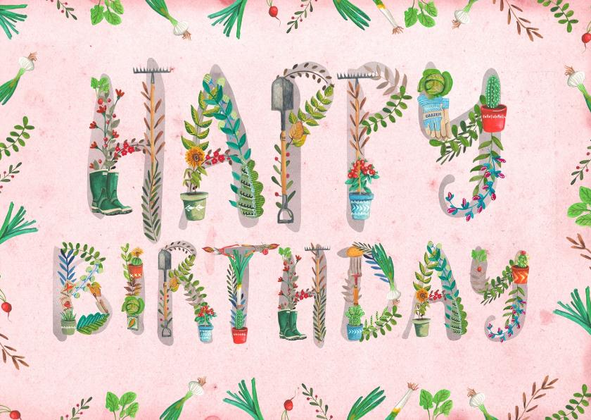 Happy Birthday Tuinieren 1