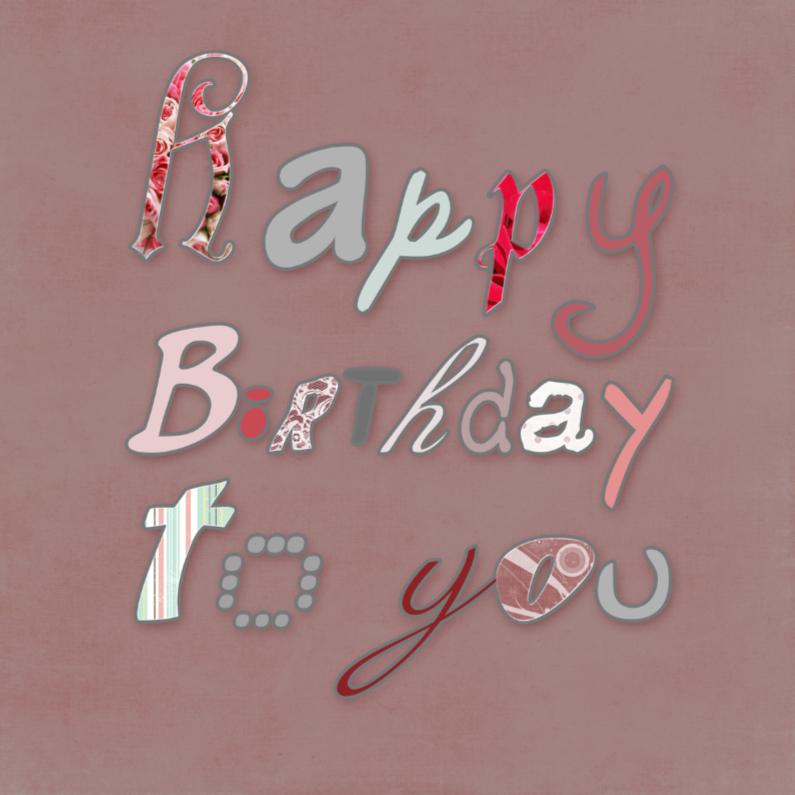 Happy Birthday Woman 1