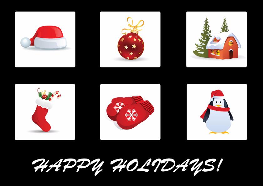 Happy Holidays Kerstmis 1