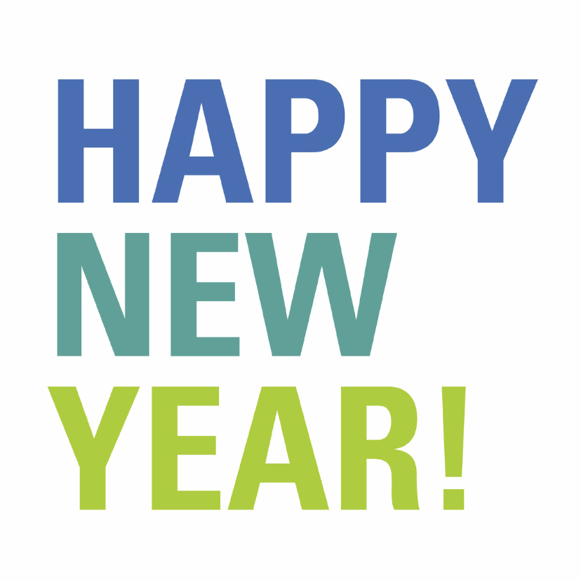 Happy New Year! nieuwjaarskaart 1