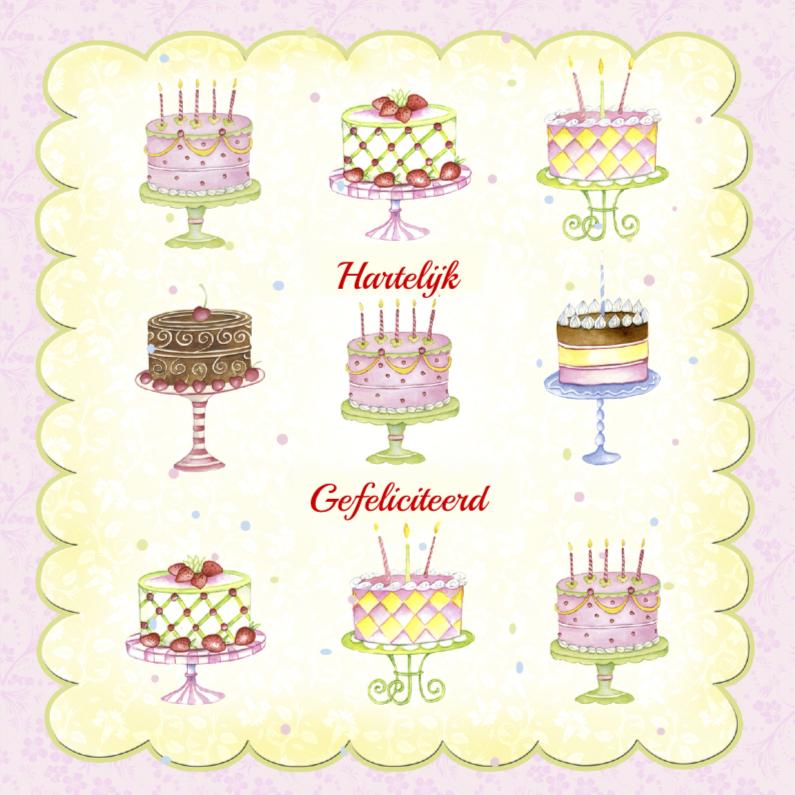 Hartelijk Gefeliciteerd taarten 1