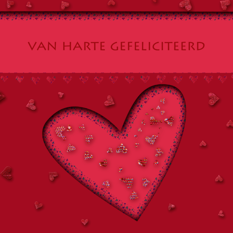 Hartjes in rood 1