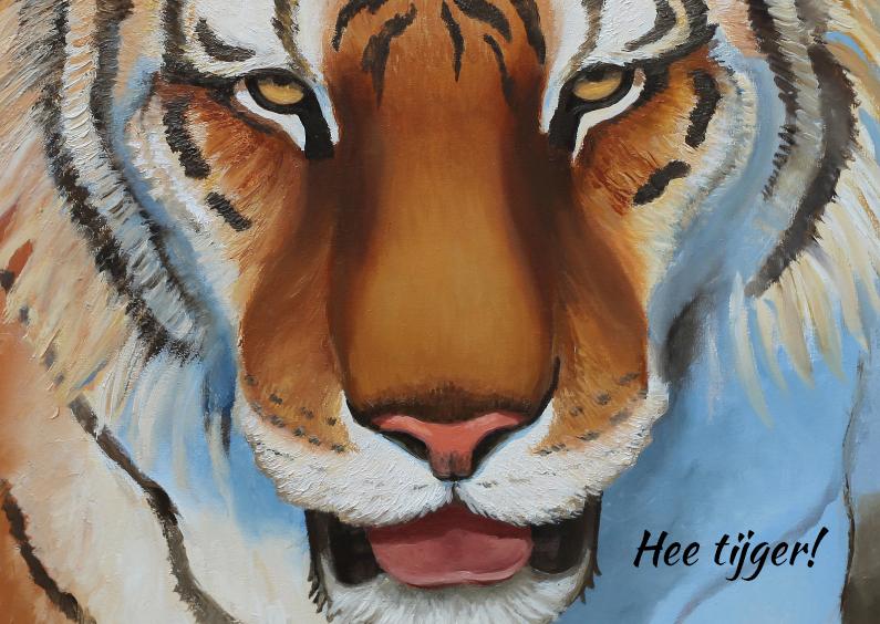 Hee tijger! 1