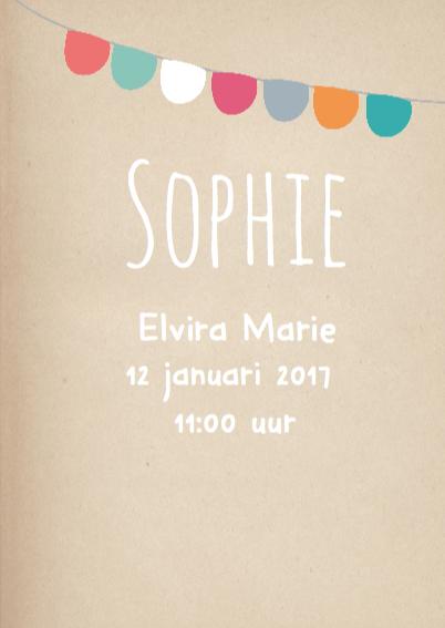 Hip Geboortekaartje Sophie  3