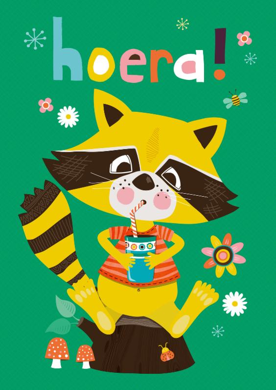 Hoera! wasbeer 1