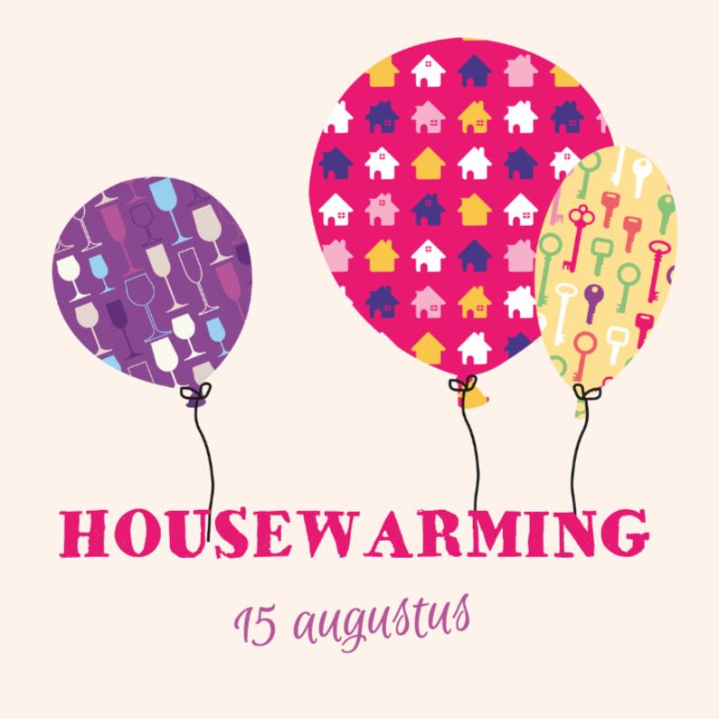 Housewarming ballonnen M 1
