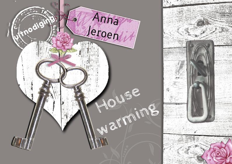 housewarming hart sleutels 1