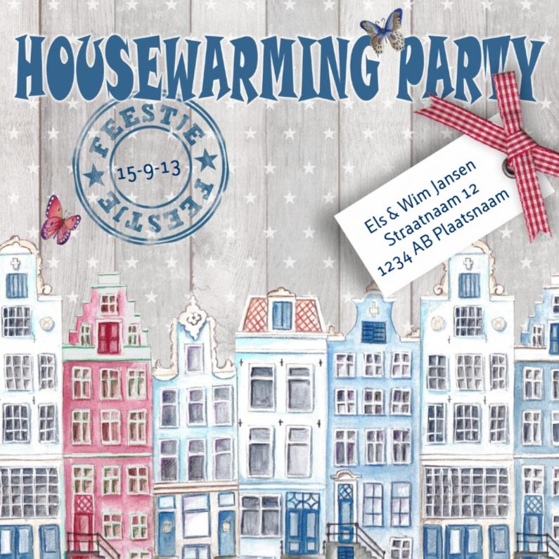 Housewarming Party Huisjes Feest 1