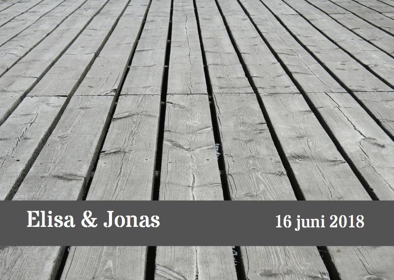 houten brug trouwkaart 1