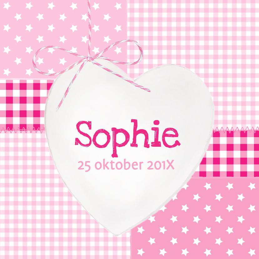 Houten Hart Wit Sophie 1