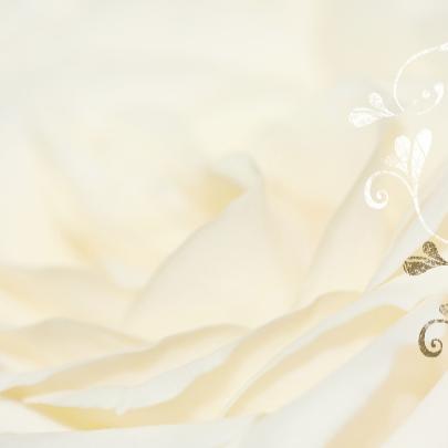 Huwelijk met rozen 3