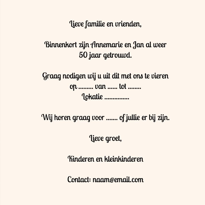 Huwelijksjubileum Papercut - SG 3