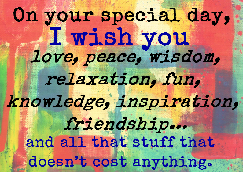 I wish you love and peace 1