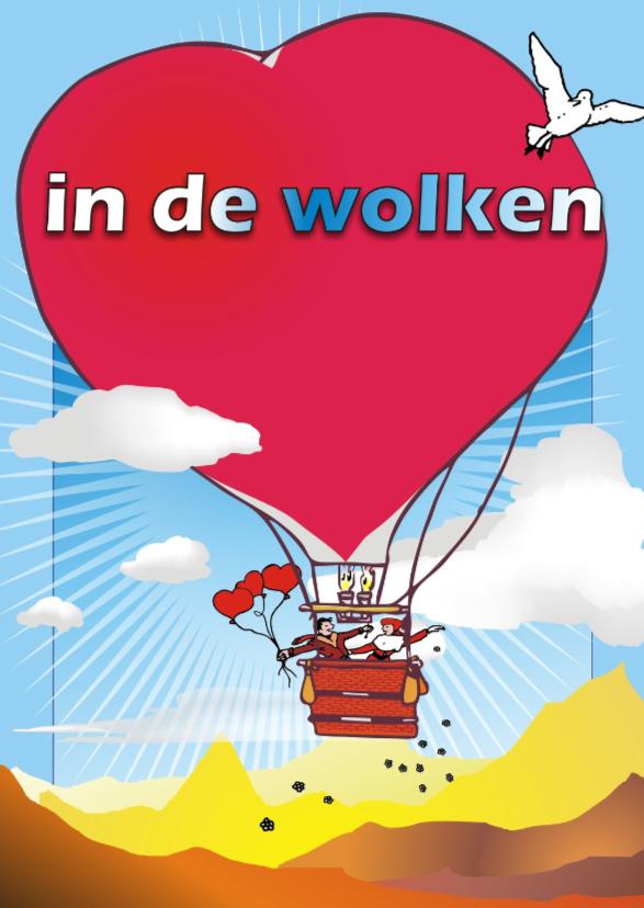 In de wolken luchtballon 1
