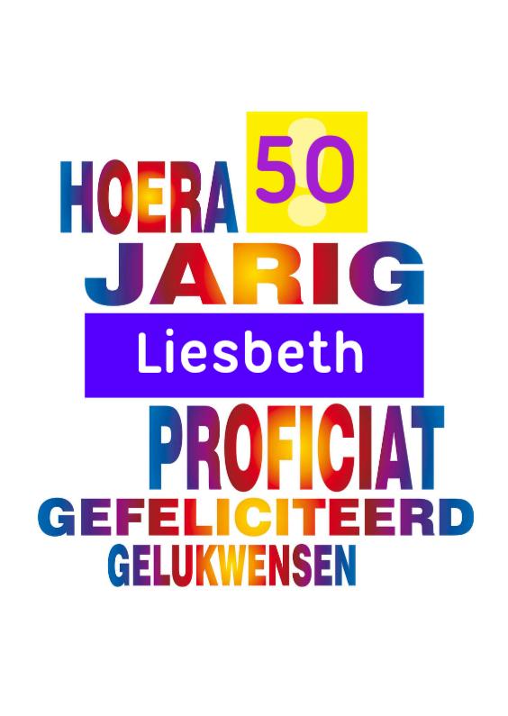 jarig 50 regenboog 1