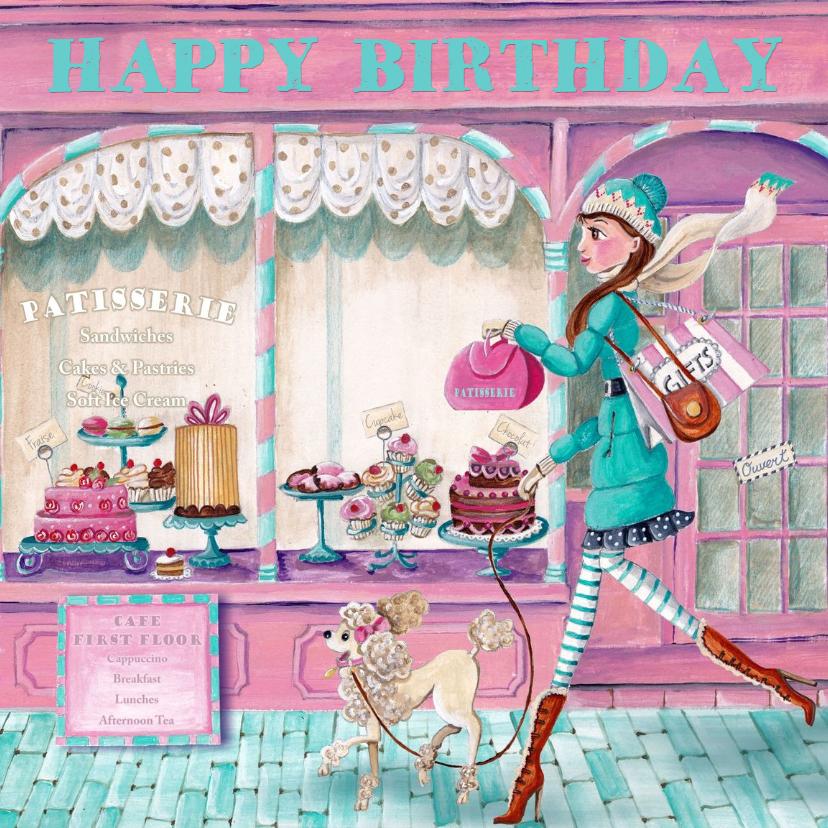 Jarig Patisserie Cupcake Taart Meisje 1