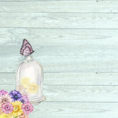 Jarig stolpje bloemen 2