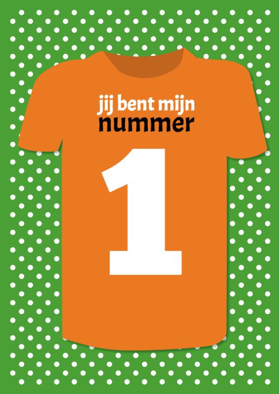 Jij bent mijn nummer 1  1