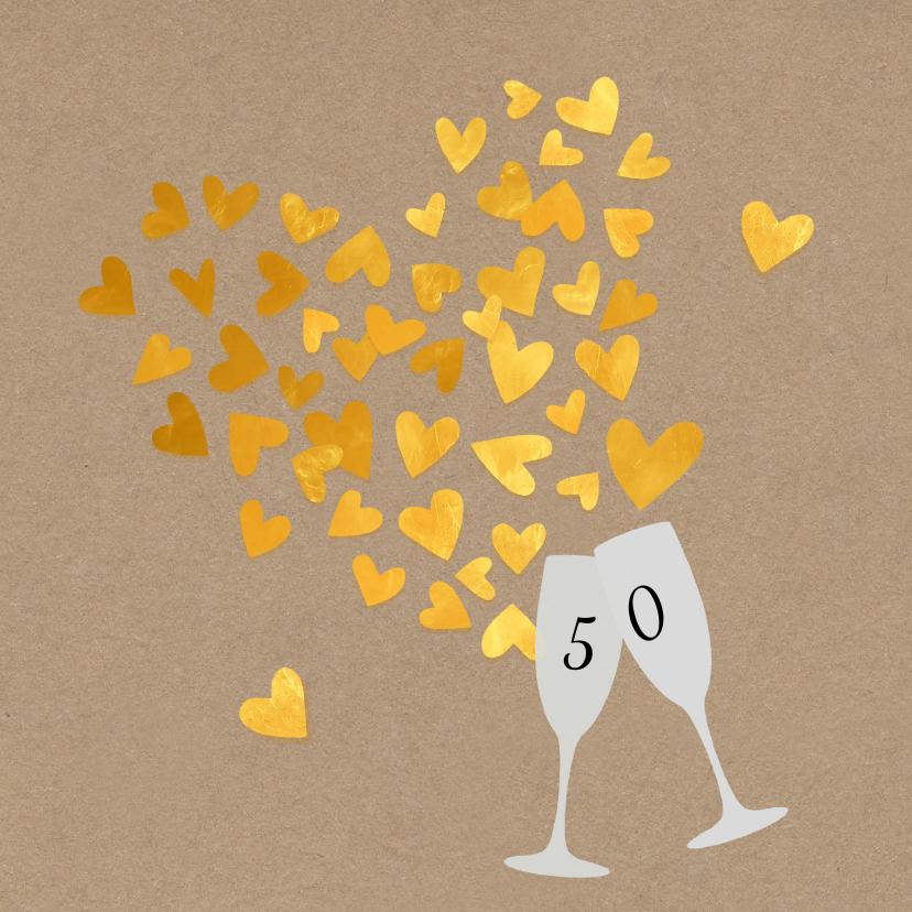 Jubileum 50 gouden hartjes 1