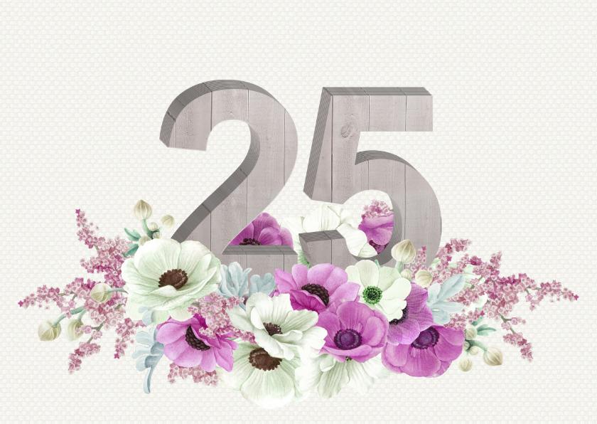 Jubileum anemonen 25 jaar 1